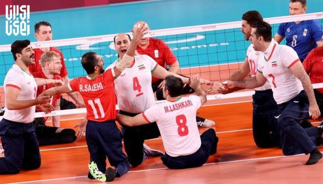 تیم ملی والیبال نشسته ایران قهرمان پارالمپیک شد