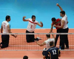 امپراتوری ایران در والیبال نشسته