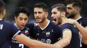 والیبال قهرمانی آسیا 2021 ؛ ایران 3 کره جنوبی صفر