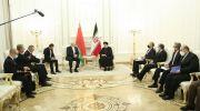 دیدار روسای جمهور ایران و بلاروس ؛ مناسبات اقتصادی دو کشور باید تقویت شد