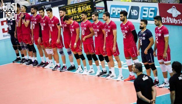 والیبال قهرمانی آسیا 2021 ؛ ایران مقتدرانه به نیمه نهایی رفت