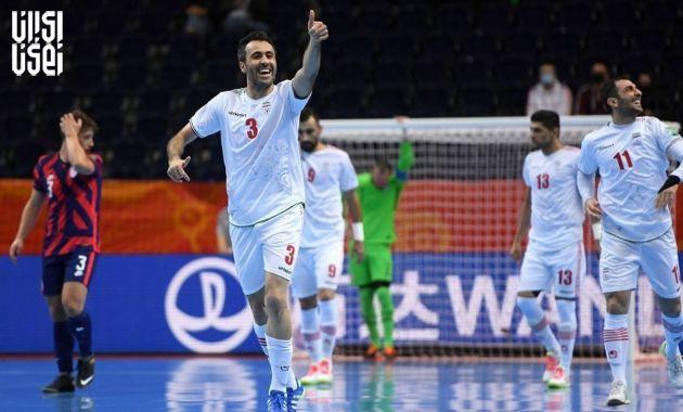 جام جهانی فوتسال 2021 ؛ پیروزی سخت ایران مقابل آمریکا