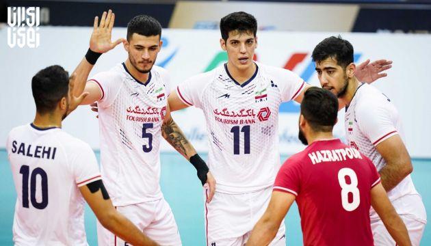 والیبال قهرمانی آسیا 2021 ؛ ایران با عبور از چین به فینال رسید