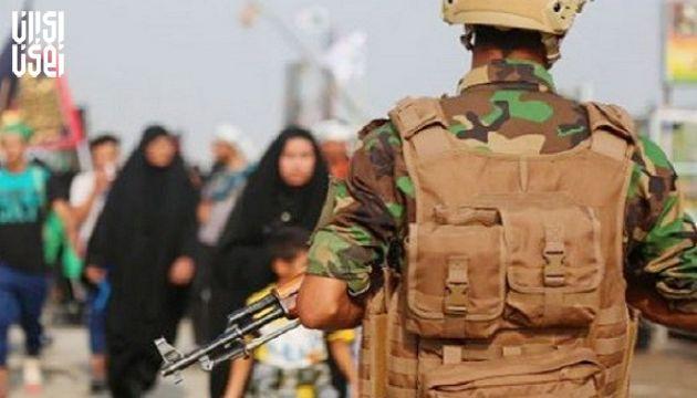 تامین امنیت اربعین حسینی با استقرار 9500 رزمنده الحشد الشعبی