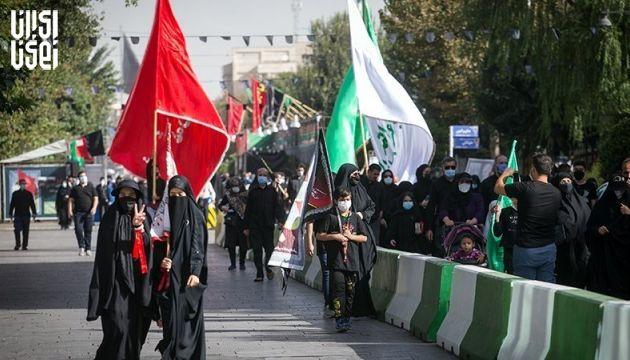 برگزاری راهپیمایی اربعین پایتخت در امنیت و آرامش