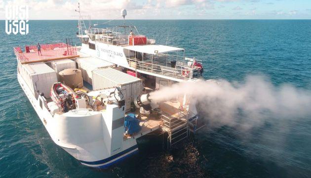 ابرهای کوچک راه حل نجات سد بزرگ مرجانی استرالیا