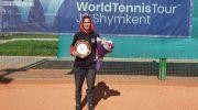 دختر تنیسور ایرانی با قهرمانی در تور جهانی تاریخ ساز شد
