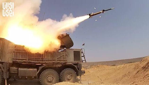 مقابله پدافند هوایی سوریه با تجاوز موشکی رژیم  اسرائیل