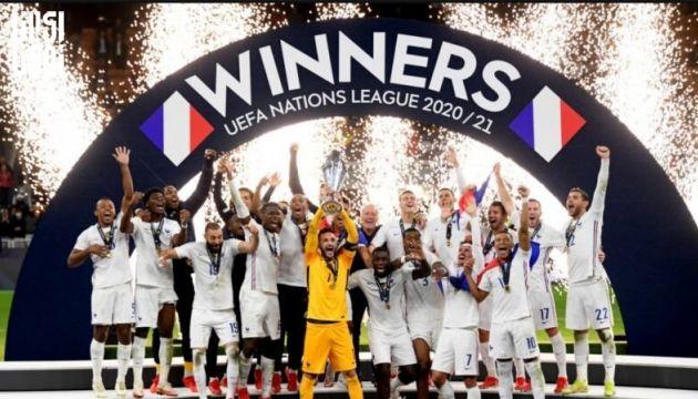 فرانسه با شکست اسپانیا قهرمان لیگ ملت های اروپا شد