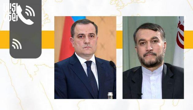 گفتگوی تلفنی امیرعبداللهیان با وزیر امور خارجه جمهوری آذربایجان