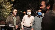مشاور فرمانده ناجا از پشت صحنه سریال نوار زرد بازدید کرد