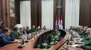 رایزنی مقامات ارشد نظامی ایران وروسیه در مسکو