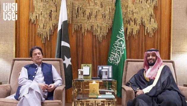 دعوت ولیعهد عربستان از نخست وزیر پاکستان