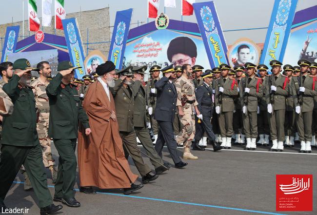 مراسم دانشآموختگی دانشگاه های افسری ارتش با حضور فرمانده کل قوا