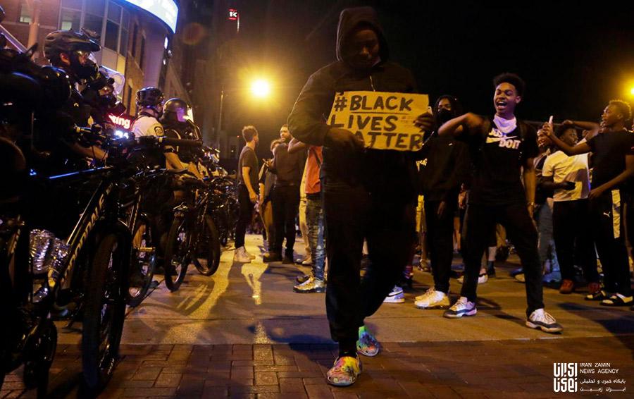 تظاهرات آمریکا در اعتراض به کشته شدن جرج فلوید